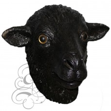 Latex Black Sheep Mask